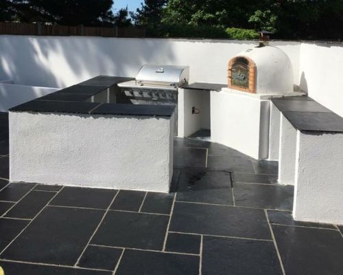 In addition to driveways in Weston Super Mare, Dynamic Home Improvements Ltd can transform your patio