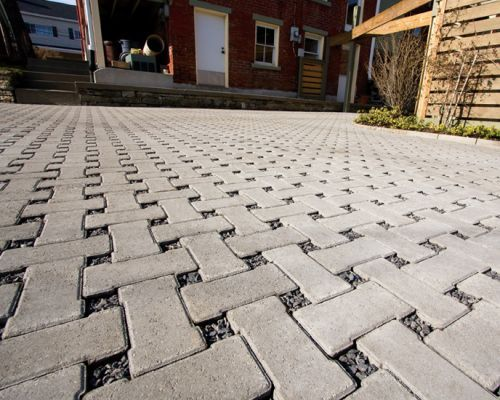 Driveways in Chard by Consolidated Drives, block paving over gravel