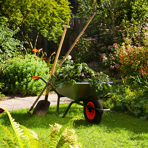 The team at Consolidated Drives are on hand year-round for garden maintenance in Somerset