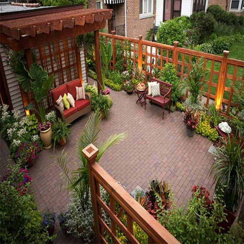Consolidated Drives can help you make the most of your terrace garden